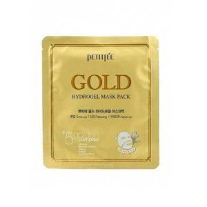 Маска для лица гидрогелевая с золотом Gold Hydrogel Mask (Petitfee)