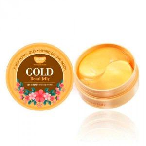 Гидрогелевые патчи для век золото/маточное молочко Royal Jelly Hydrogel Eye Patch, KOELF