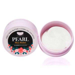 Гидрогелевые патчи для век с жемчугом и маслом ши Pearl&Shea Butter Hydrogel Eye Patch (Koelf)