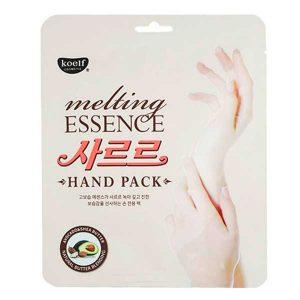 Маска-перчатки для рук СМЯГЧАЮЩАЯ MELTING ESSENCE HAND PACK, KOELF